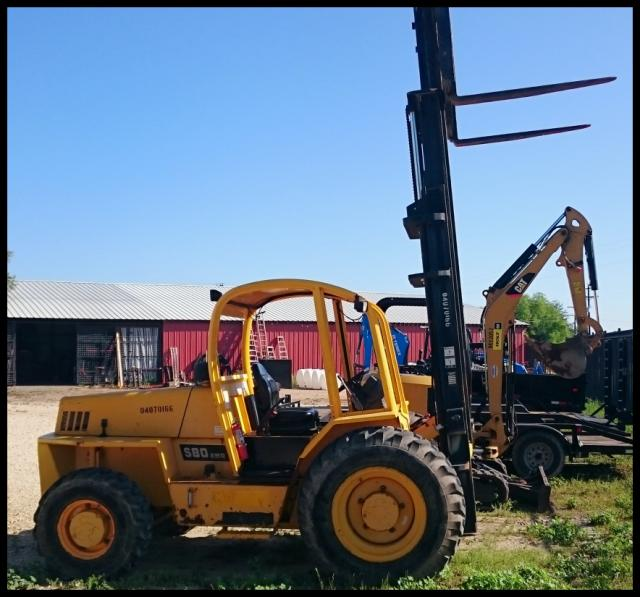 Where to find FORKLIFT, SELLICK, 8000LB LIFT in Lampasas