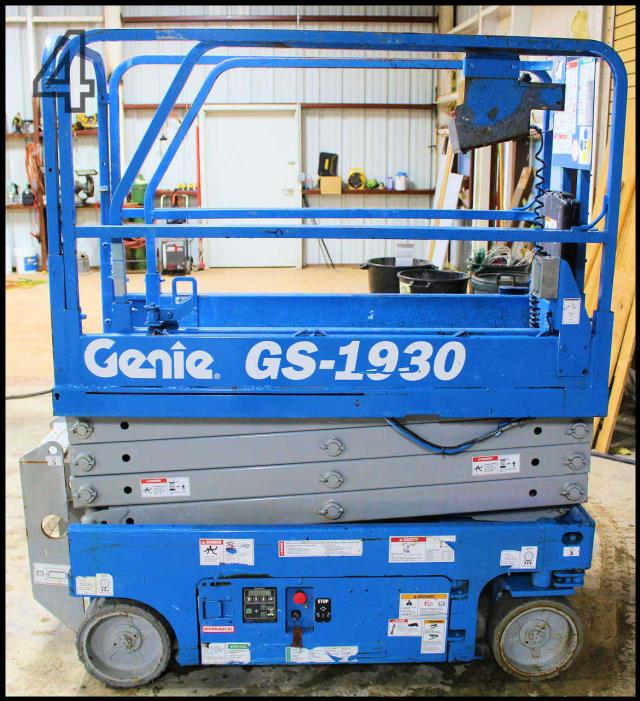 Where to find USED, 2012, GENIE, SCISSOR LIFT, GS1930 in Austin