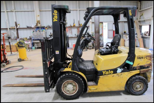 Where to find USED, 2013, YALE, FORKLIFT, GDP060 in Austin