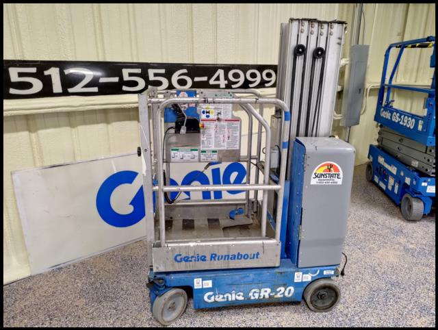 Where to find USED, GENIE, GR20, MAN LIFT in Austin